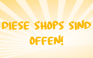 Shopping Bruck geöffnete Shops Coronazeit
